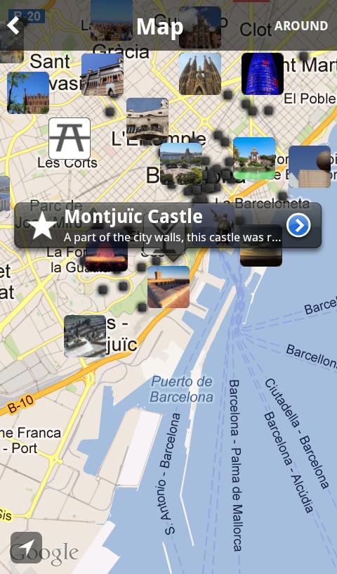 Tripomatic bestemming Barcelona