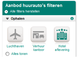 Filter Hotelaflevering