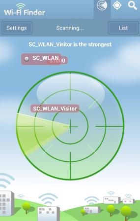 WiFi Finder scanner