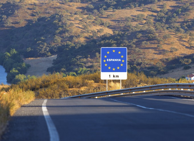 Spanje grens