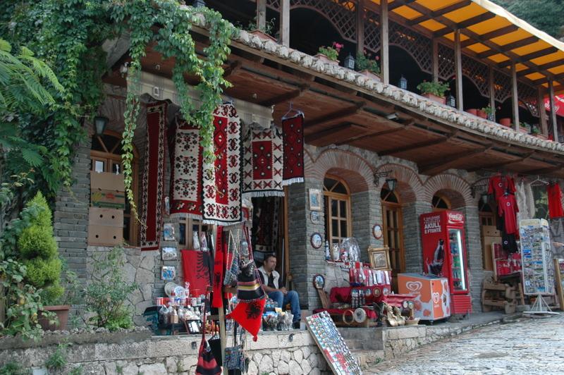 Souvenirs kopen in Albanië