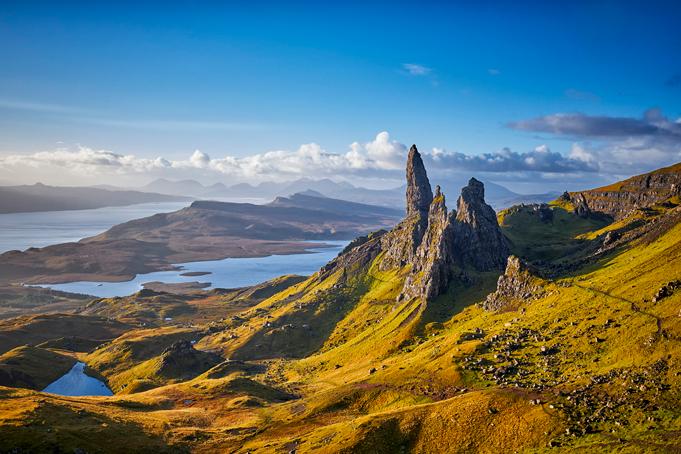 Huurauto in de Schotse Hooglanden