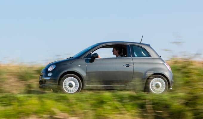 italie huurauto rijden zijaanzicht