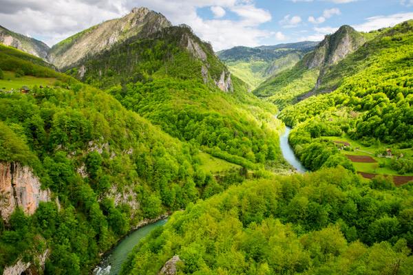 Montenegro Tara Canyon huurauto