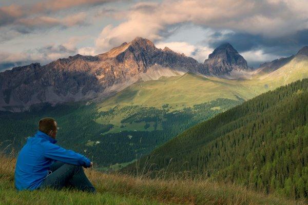 Ruben Schipper uitzicht bergen