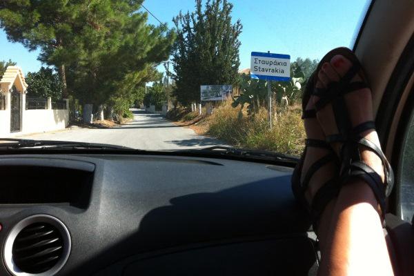 griekenland relaxen huurauto