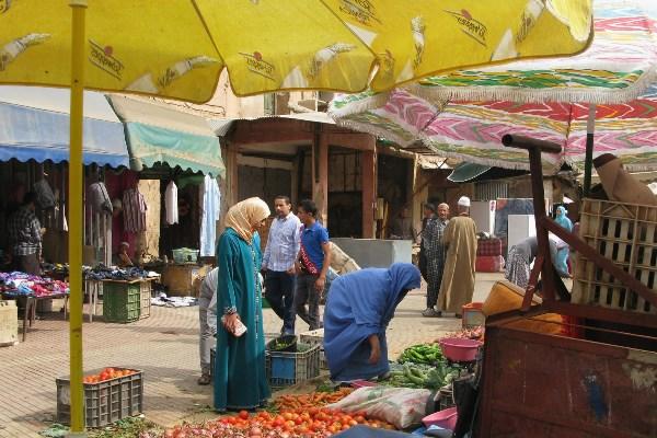 Rondreis Marokko kleurrijke medina