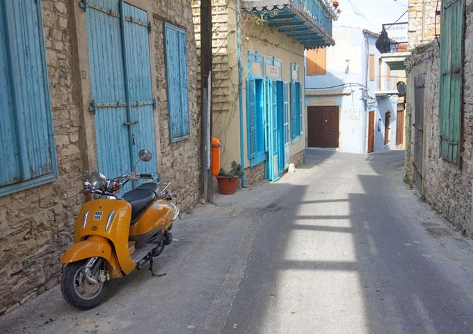 groen cyprus griekenland lunchen oude stad