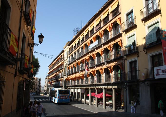 roadtrip binnenland spanje toledo plaza zocodover