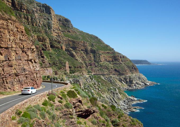 top 5 routes chapmans peak zuid-afrika
