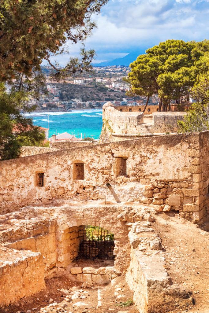 Fort doorkijkje Kreta