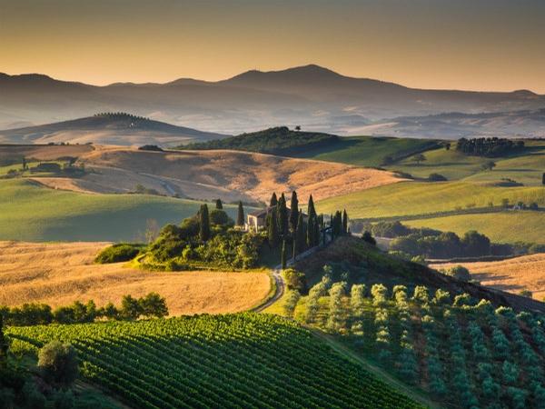 Filmdecor under the tuscan sun