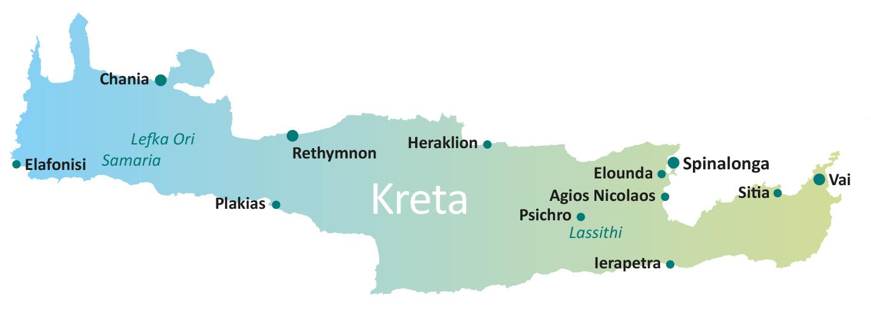 Kaartje Kreta roadtrippen