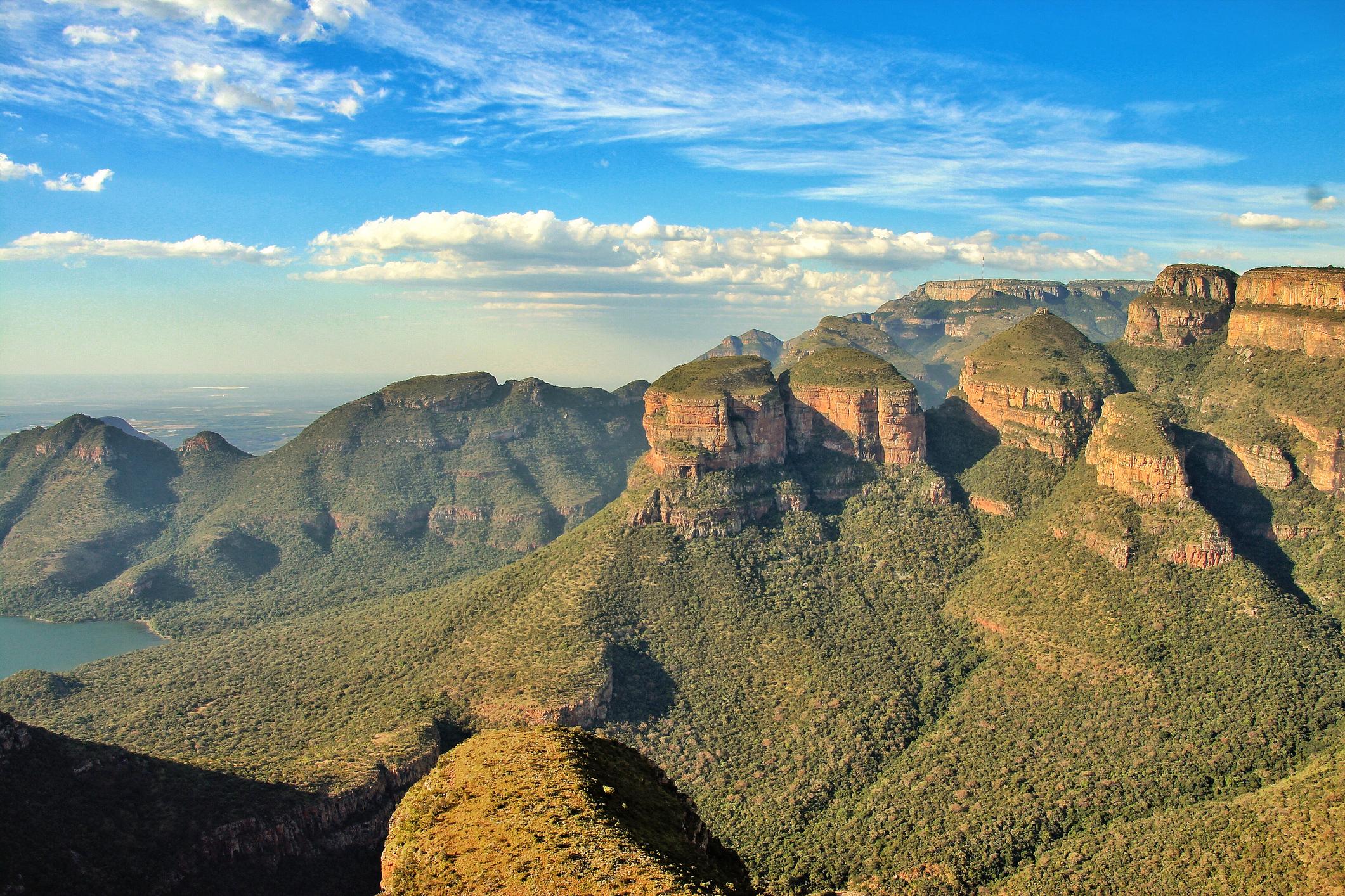 Drakensberg Zuid-Afrika
