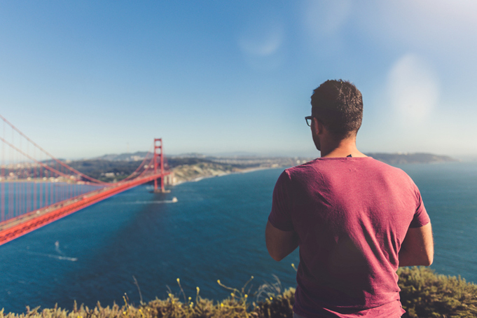 Foto maken van de Golden Gate Bridge