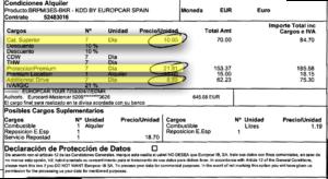 Lokaal huurcontract Spanje