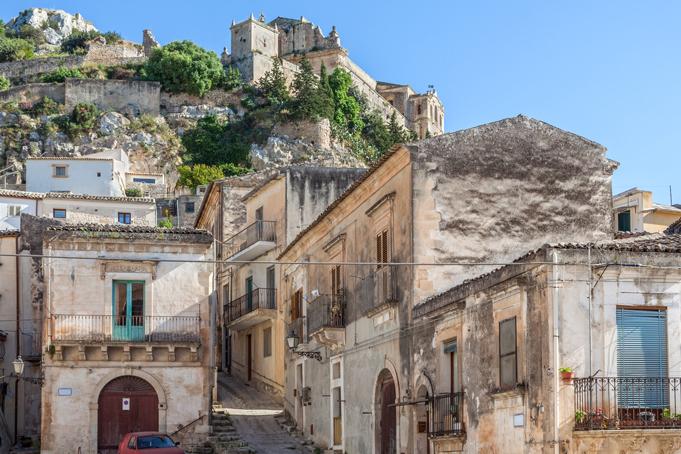 Scicli op Sicilië
