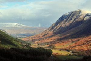Schotland Ben Navis Valley