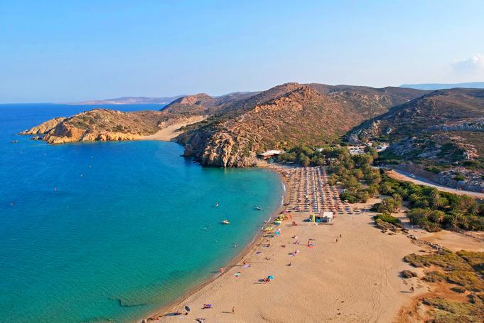 Palmenstrand Vai op Kreta