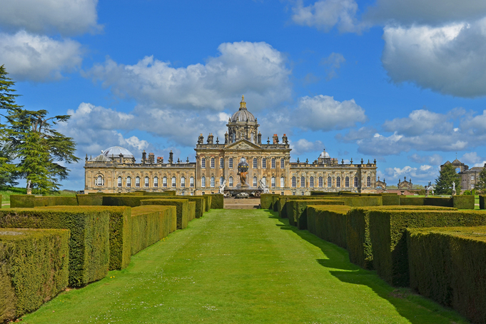 Castle Howard, Yorkshire County, Engeland
