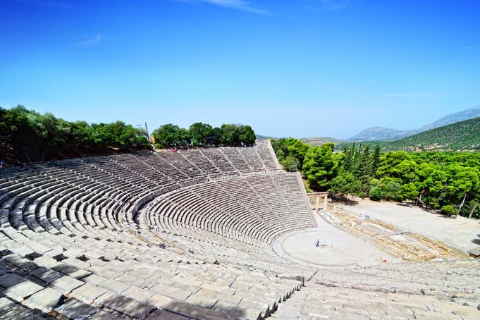 Openluchttheater Epidaurus