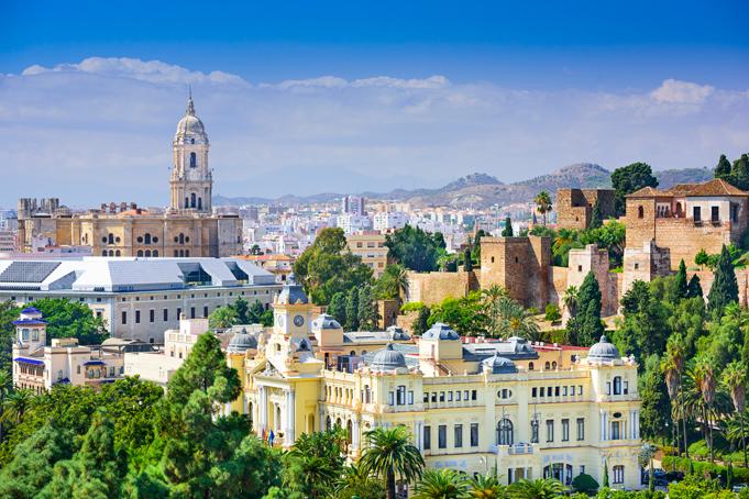 Historisch centrum Málaga