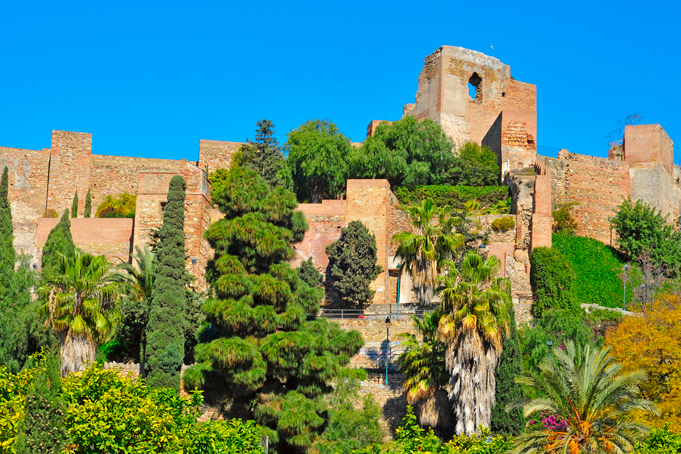Moorse vesting Alcazaba