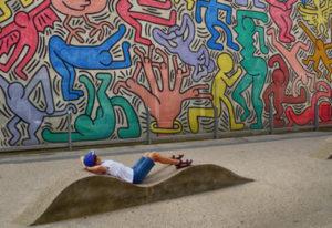 Kunst van Keith Haring, Pisa