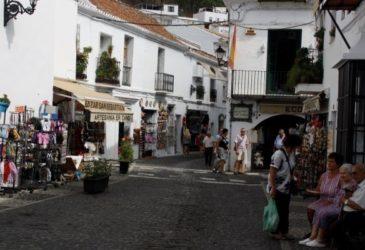 Andalusië: Tapas eten in Mijas Pueblo