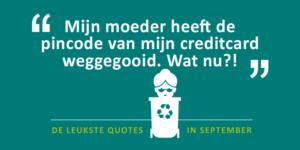 Quotes van september 2018