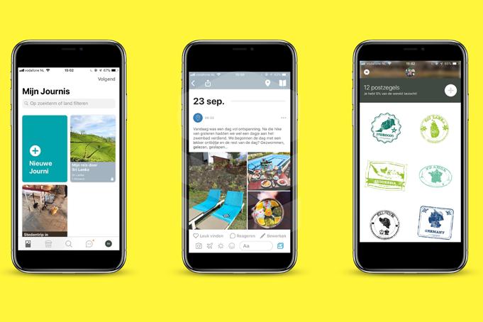 App van de maand - Journi