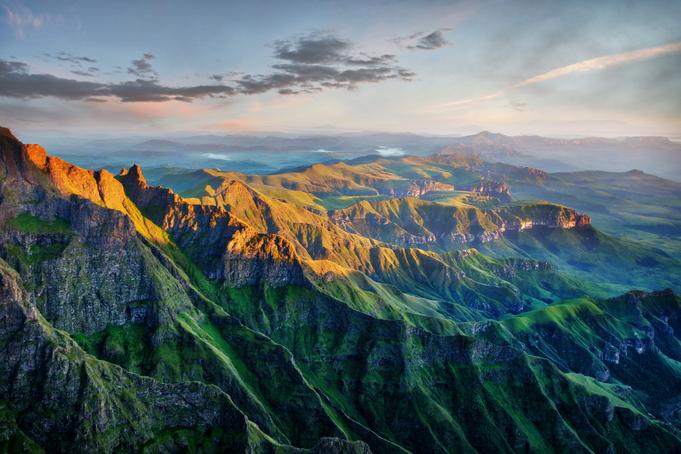 Drakensbergenpark Zuid-Afrika