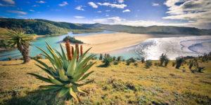 Umtata River in Zuid-Afrika