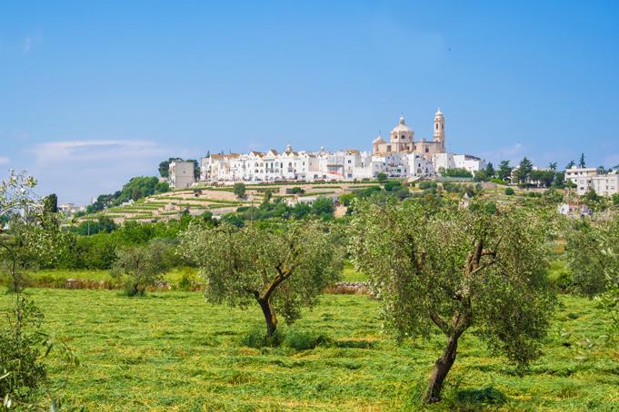 Trulli in Locorotondo, Puglia