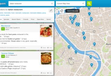 Foursquare, ook handig op reis