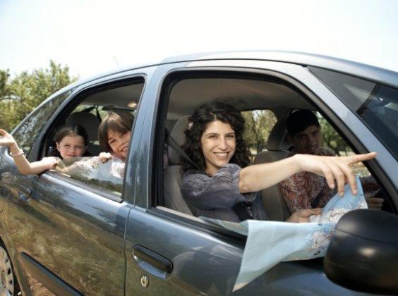 Ik huur een auto en neem mee…