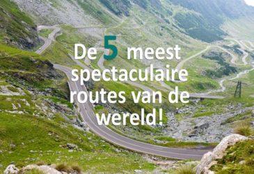 De 5 meest spectaculaire routes ter wereld