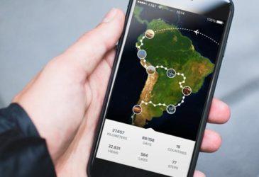 Handige app: deel je reis met het thuisfront