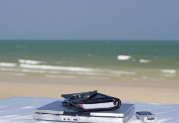 Blog met vakantie