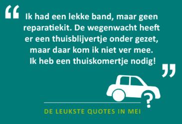 De quotes van mei: op vakantie naar Sunny Cars?