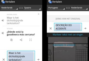 Met Google Translate een online vertaaldienst op zak!