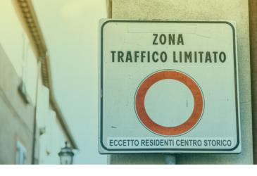 Hoe voorkom ik een boete met een huurauto in italië?