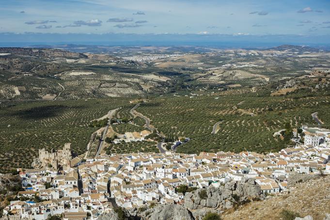Zuheros. Moors dorpje in Málaga