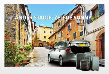Nissan Sunny vakantiekiekjes