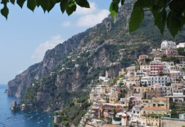 De Costa Amalfitana in Italië