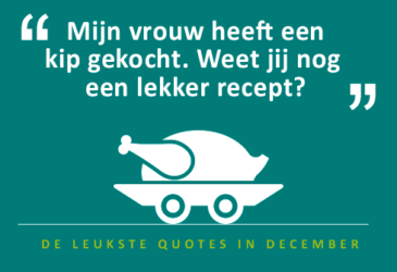 De quotes van december – Ben ik autohuurexpert of kok?