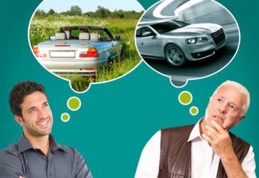 Generatiekloof autohuur bij Nederlandse automobilist