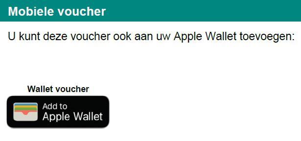 Wallet voucher