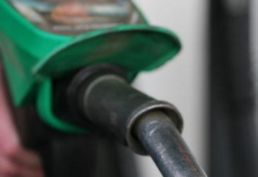 Opgepompte benzineprijzen