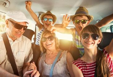 On the road met alle familieleden, iedereen gaat mee!